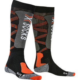X-Socks Ski LT 4.0 Chaussettes, black/x-orange